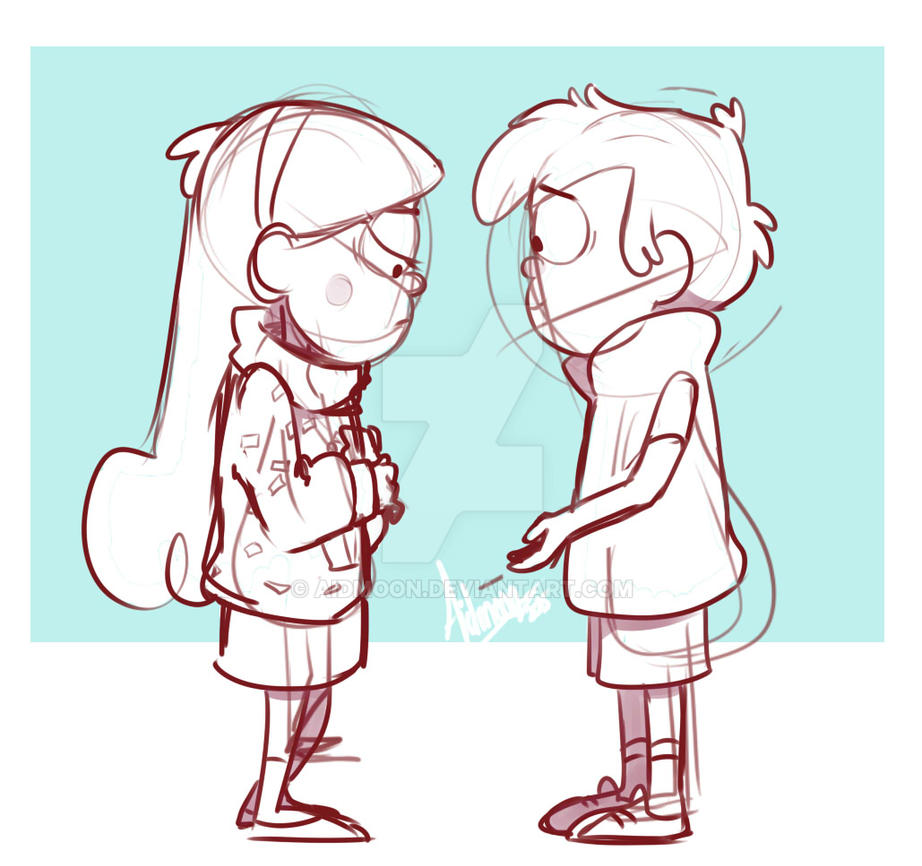 Dipper And Mabel Vs The Future by aidmoon