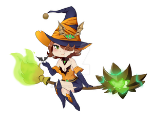 [Paladins] Bewitched Evie