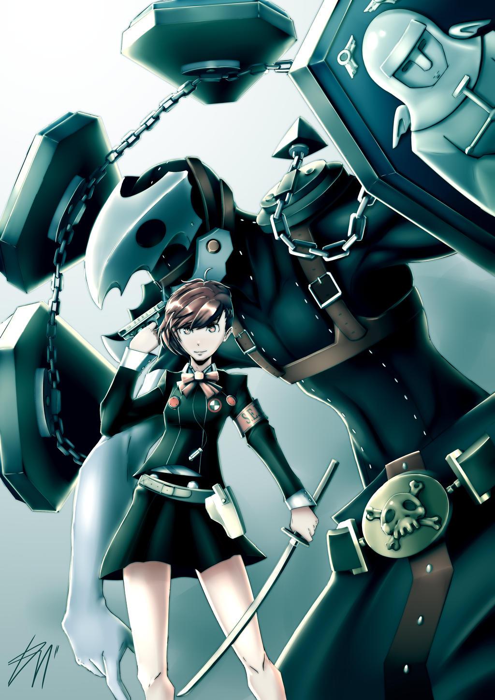 Persona 3 Thanatos And Hamuko By Karashimanju On Deviantart