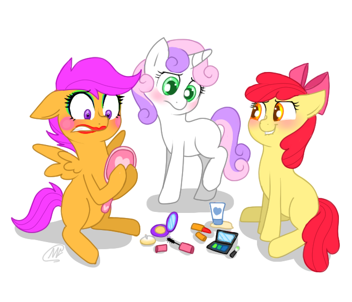 Crusading For Cutie Marks By Mc10215 On DeviantArt