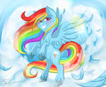 Rainbow Dash Being Awesome
