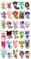 150 point adopts #6 (1/30 OPEN) by StaleElephantBones