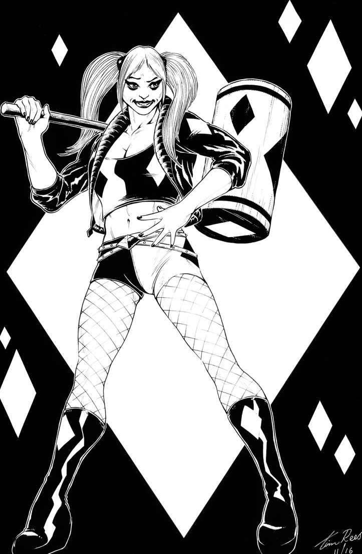 Harley Quinn by TimRees