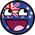 Happy Face Australia by JackArgetlam