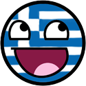 Happy Face Greece by JackArgetlam