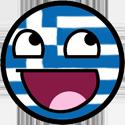 Happy Face Greece by JackArgetlam