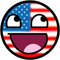 Happy Face United States by JackArgetlam