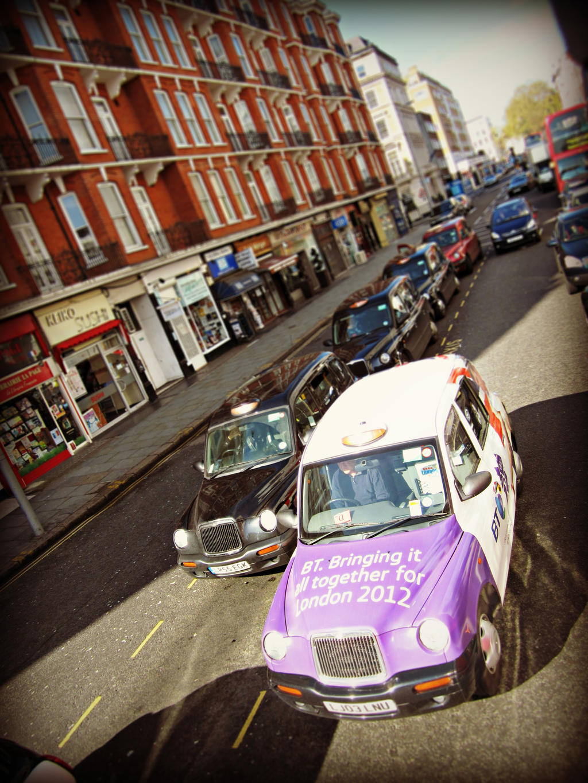 Taxi London 2012 by JackArgetlam