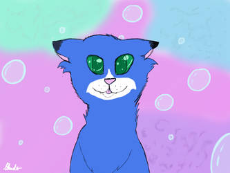 Kip as a cat by ezziethenekolover