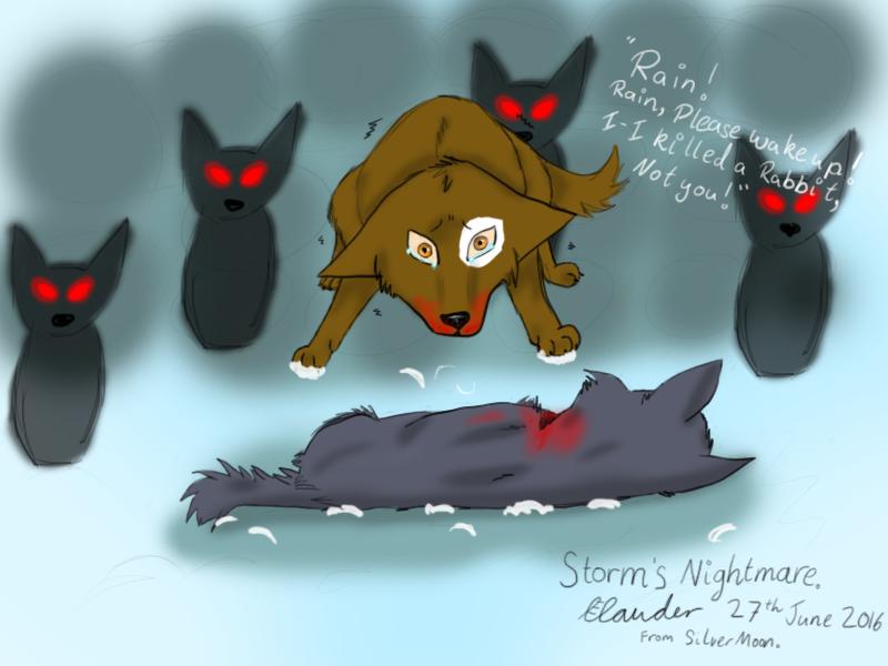 Storm's Nightmare by ezziethenekolover