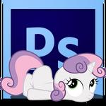 sweetie belle PhotoshopCS6 icon
