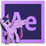 princess twilight after effects CS6 icon