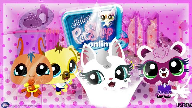 Littlest Pet Shop Online wallpaper