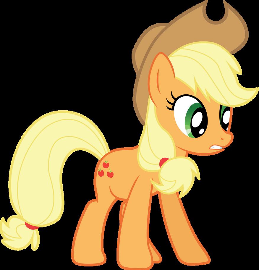 Applejack vector by illumnious