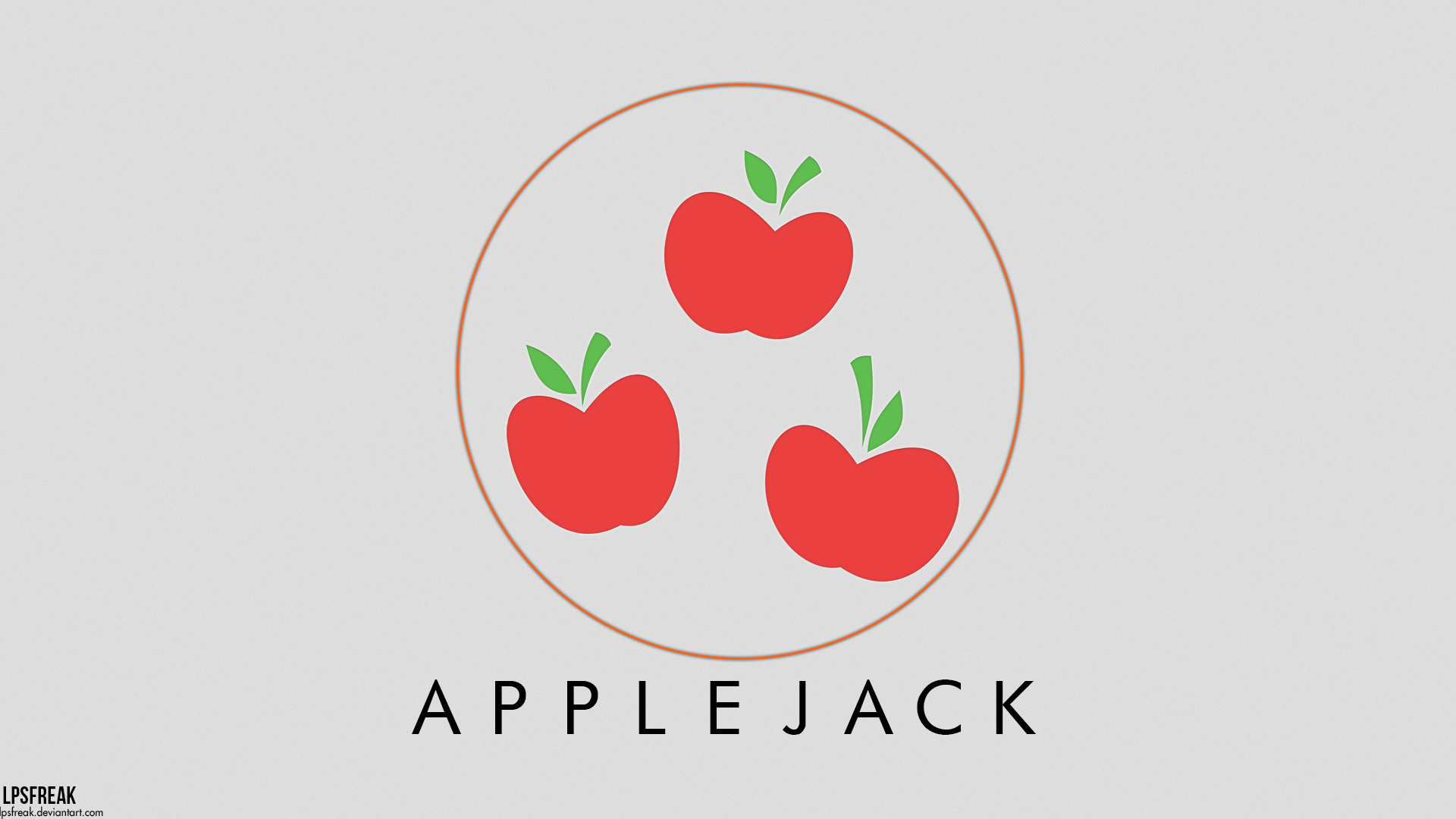 Applejack Mineral Wallpaper by LPSfreak