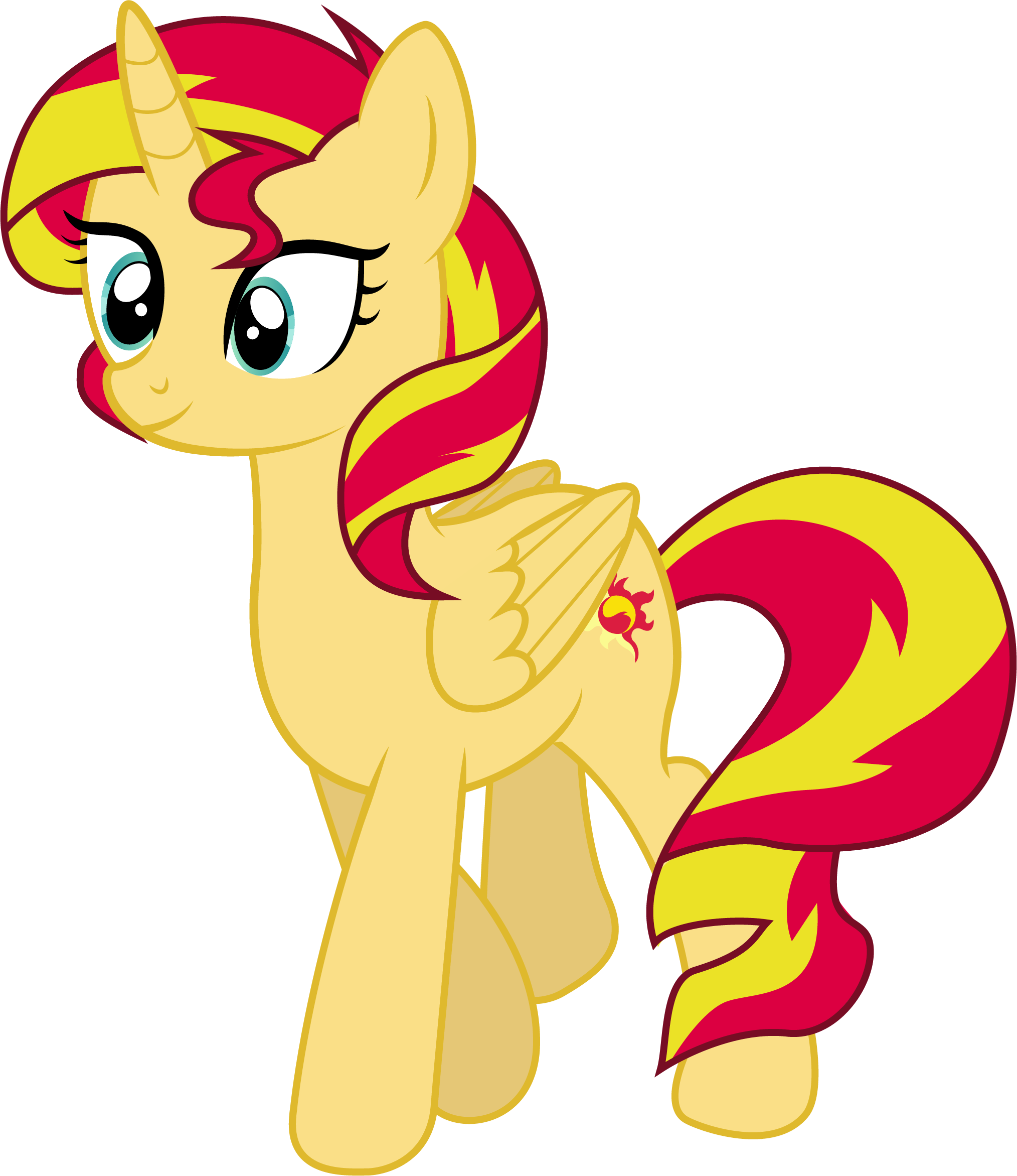 Princess Sunset Shimmer by illumnious