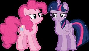 Twilight And Pinkie Pie