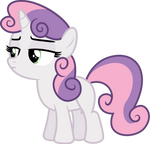 Sweetie Belle Not Intersting