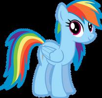 Rainbow Dash Starring by illumnious