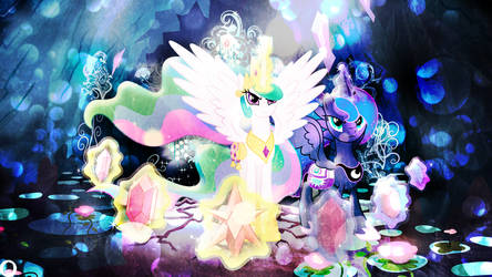 Sisters Of Harmony by illumnious