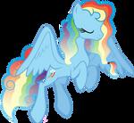 Regal Rainbow Dash