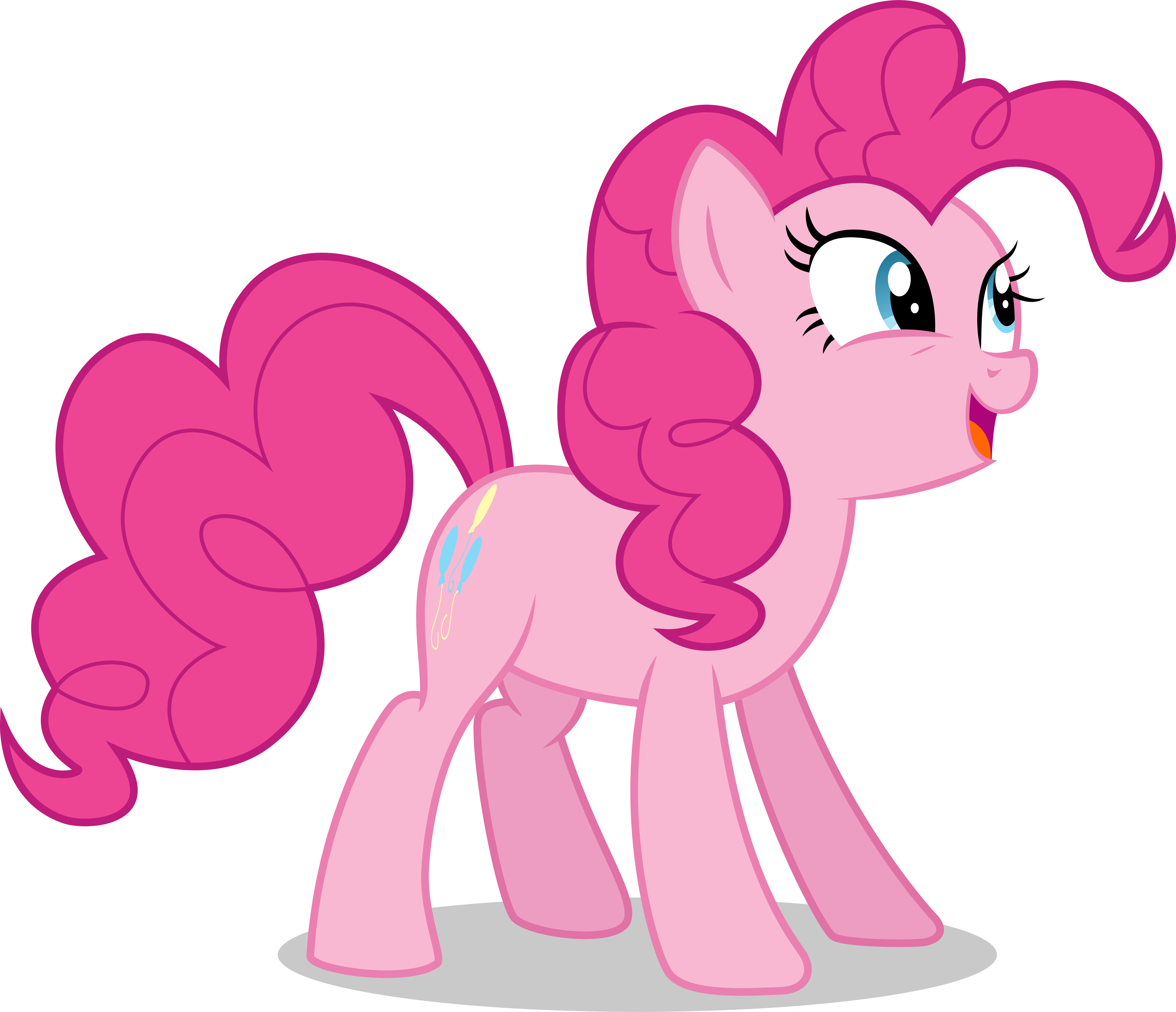 pinkie pie joyful face by illumnious pinkie pie joyful face by illumnious