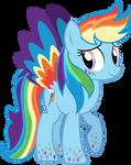 Rainbowfied Rainbow Dash Alt. Design