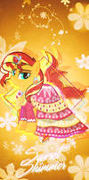 Sunset Shimmer iPhone XS/11 Pro Max Wallpaper