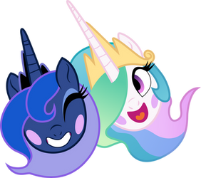 Tia and Woona by illumnious