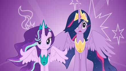 Ruler and her former student by illumnious