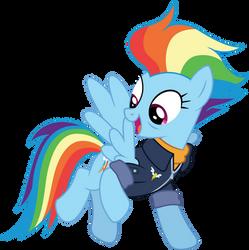 Future Rainbow Dash by illumnious