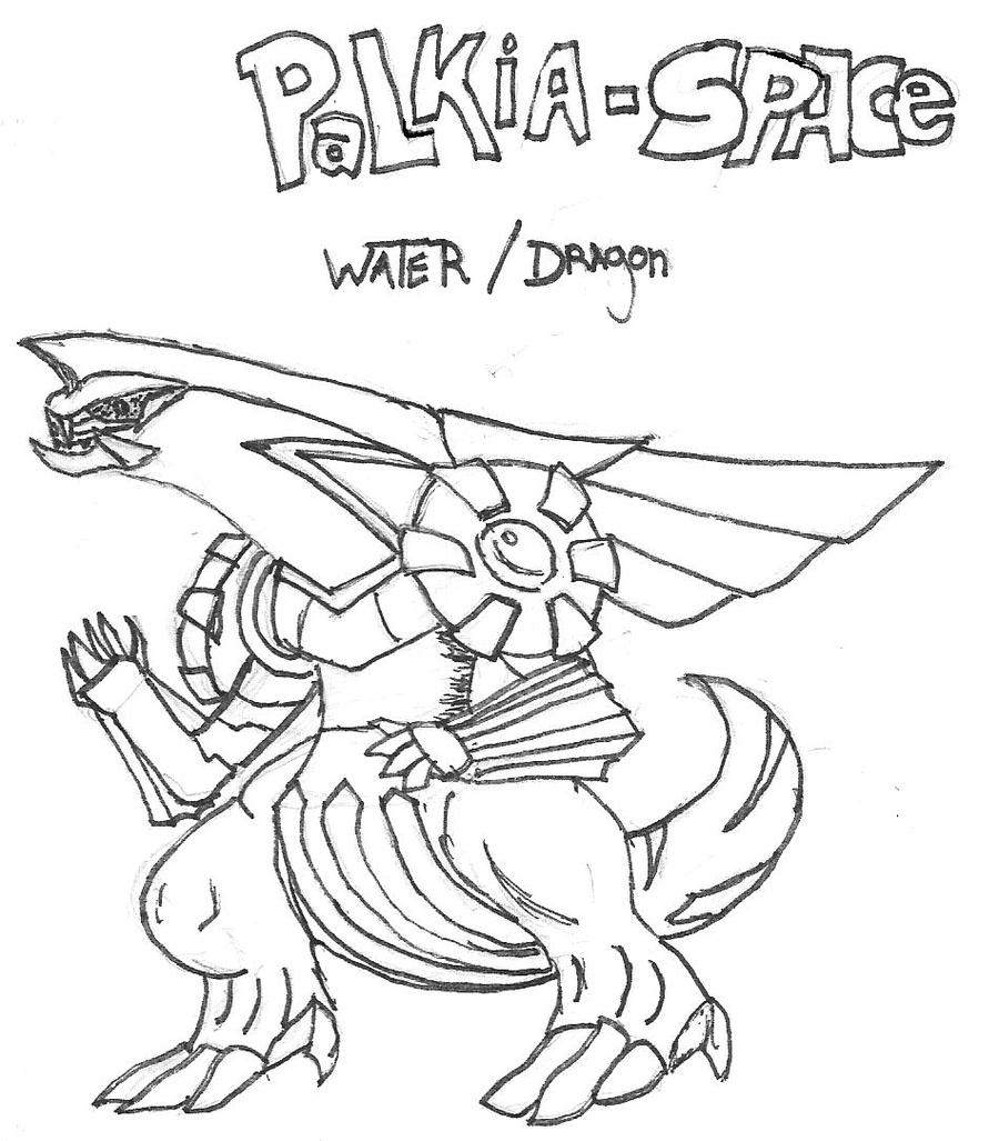 palkia coloring pages - photo#28