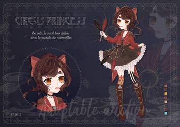 OPEN Circus princess - adoptable auction by AkesiSan
