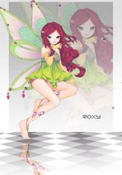 Roxy by AkesiSan