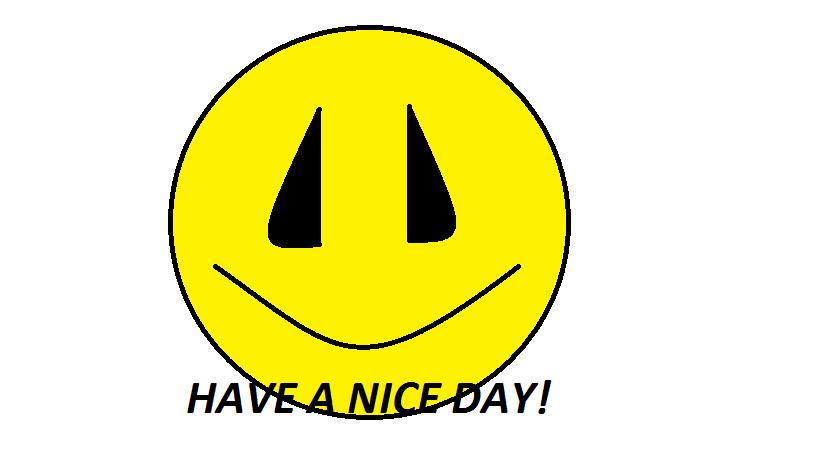 Have a nice day smiley by dundundun111