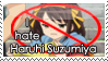 Anti-Haruhi Suzumiya stamp by AllenWalkerHinamori