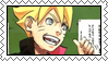 Bolt Uzumaki Stamp by AllenWalkerHinamori