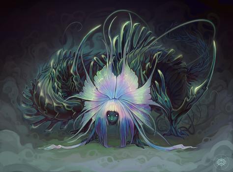 Monstera illustration