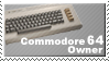 Commodore 64 Owner Stamp by JazzaX