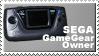 Sega Game Gear Owner Stamp by JazzaX