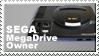 Sega Mega Drive Owner Stamp by JazzaX