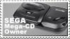Sega Mega Cd Owner Stamp by JazzaX