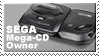 Sega Mega Cd Owner Stamp by JazzaX