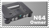 N64 Owner Stamp by JazzaX
