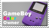 Gameboy Color Owner Stamp by JazzaX