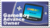 Gameboy Advance Owner Stamp by JazzaX