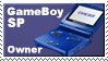 Gameboy Sp Owner Stamp by JazzaX