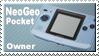 Neogeo Pocket Owner Stamp by JazzaX