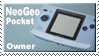Neogeo Pocket Owner Stamp by JazzaX