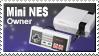 Mini NES Owner Stamp by JazzaX